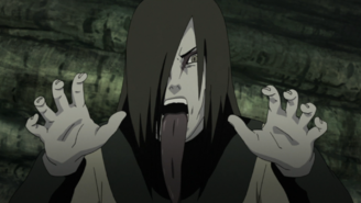 Orochimaru Intimidating