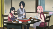 Uchiha family dinner