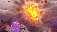 Desintegração da Grande Flor Escaldante (Momoshiki - Game)