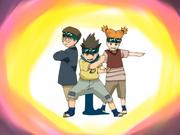 Esquadrão Ninja de Konohamaru aparece