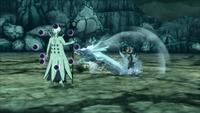 Liberação de Água - Técnica do Projétil do Dragão de Água (Hiruzen - Game)