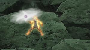 Rasen Shuriken de Bola Bestia con Cola Anime