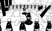 Shikadai é encurralado pelos clones