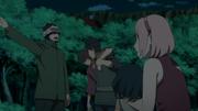 Shino Evacuating Citizens