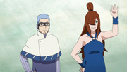 Chojuro y Mei se despiden