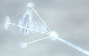 Elemento Cristal Flecha de Luz