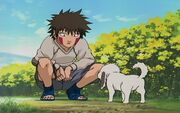 Kiba as a little child