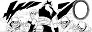 Naruto e seus clones atacam Kabuto
