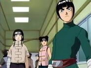 Rock Lee, Tenten e Neji