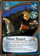 Tempestad Furiosa Carta