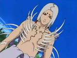 Kimimaro en el Nivel Uno de su Transformación de Sello Maldito