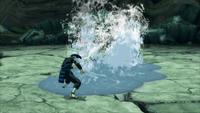 Liberação de Água - Onda de Choque Explosiva de Água (Tobirama - Game)