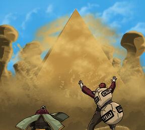 Naruto 556 gaara s piramid by salemsaberhaggen-d4aivi