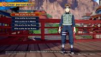 Naruto To Boruto Shinobi Striker - Creación de personajes