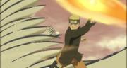 Naruto abriendo el paso