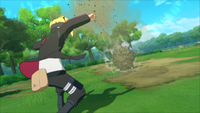 Projétil de Rocha (Boruto - Game)