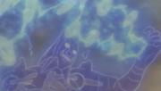 Yasaka no Magatama Versión de Madara con múltiples disparos de Magatamas Anime