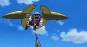 Dispositivo Mecánico con alas