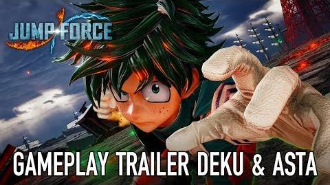 JUMP Force - PS4 XB1 PC - Deku & Asta (Gameplay Trailer)