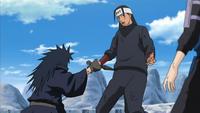 Madara impede Hashirama de suicidar-se