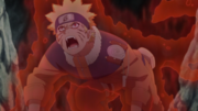 Naruto's Kyuubi Form