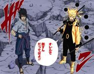 Naruto e Sasuke vs Madara