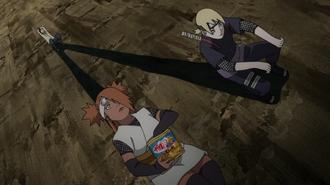 Shikadai Rescues Team
