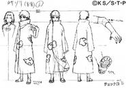 Arte Pierrot - Sasori Akatsuki