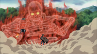 Itachi Saves Naruto and B