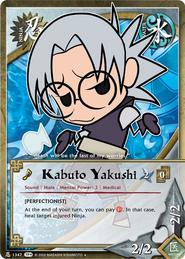 Kabuto Yakushi Chibi TP4
