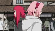 Sakura e Karin se encontram