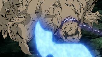 Shukaku defending Gaara