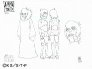 Arte Pierrot - Komushi marionete
