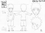 Arte Pierrot - Naruto Criança2