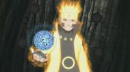 Arte Sábia Rasengan de Liberação de Magnetismo (Anime)