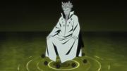 Hagoromo aparece ante Naruto