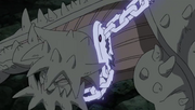 Isobu atrapado por las Cadenas de Chakra