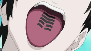 Sello Erradicación Lengua Maldita Anime