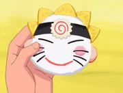 Hinata's homemade onigiri
