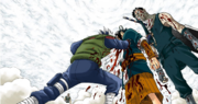 Kakashi atinge Haku
