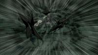 Tobi ejects shuriken