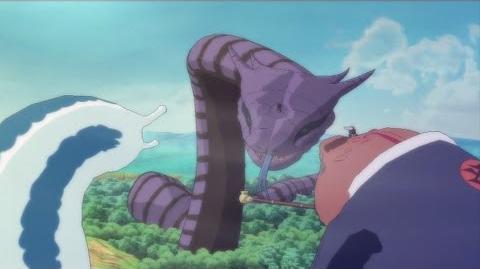 Tsunade and Jiraiya vs Orochimaru