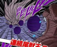 Contínuas Bolas da Besta com Cauda (Gyuki)
