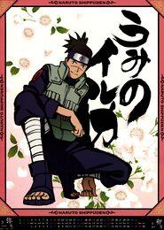 Naruto Shippūden Calendario 2013 Marzo-Abril