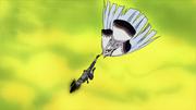 Kakashi le da un golpe letal a Kaguya