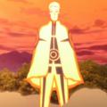 Modo Kurama combinado con el Modo Sabio de los Seis Caminos durante Naruto Gaiden El Séptimo Hokage y la Primavera Escarlata