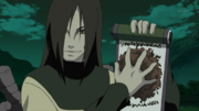 Orochimaru utiliza ADN para resucitar un alma