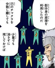 Tobirama Explicando Kage Bunshin