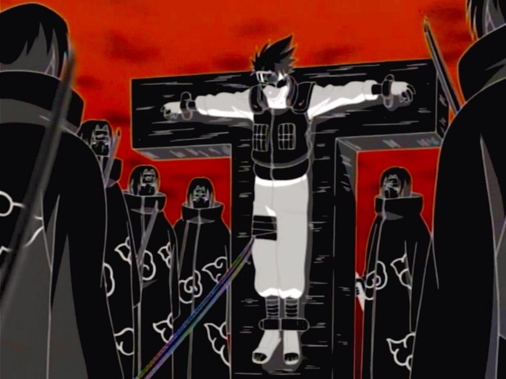 Itachi mučí Kakashiho