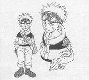 Diseño inicial de Naruto